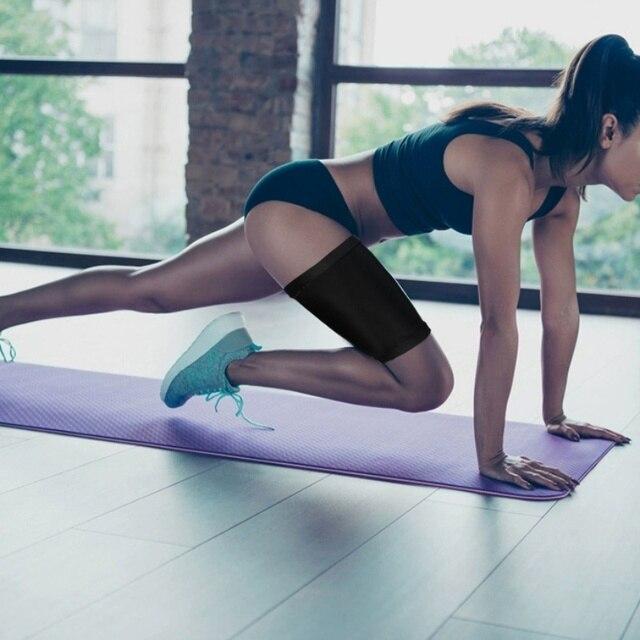 Women Arm Thigh Leg Trimmer Sleeves Compression Belt Body Shaper Sauna Slimmer Sweat Shaping Fat Burning Leg Warmers Corset 5