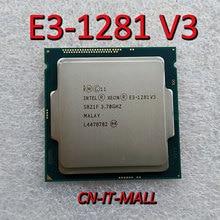 Intel Xeon E3 1281 V3 מעבד 3.7GHz 8M 4 Core 8 אשכולות LGA1150 מעבד