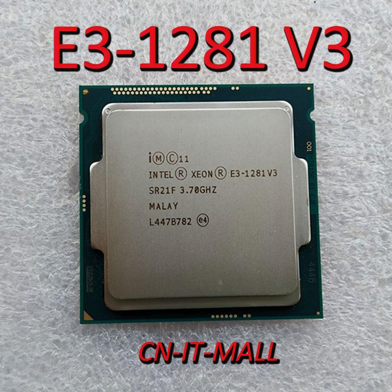 Intel Xeon E3-1281 V3 CPU 3.7GHz 8M 4 Core 8 Threads LGA1150 Processor