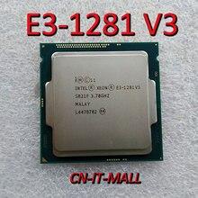 Intel Xeon E3 1281 V3 CPU 3.7GHz 8M 4 Core 8 Threads LGA1150 Processor