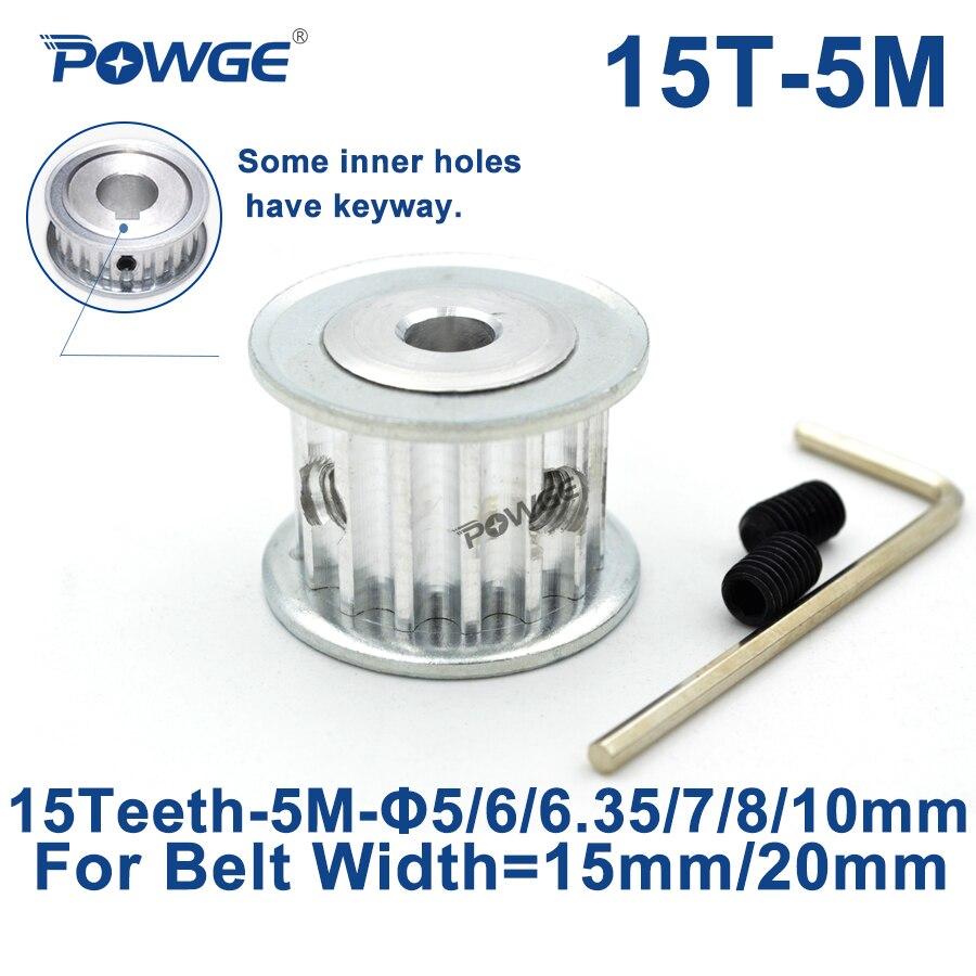 HTD3M Pulley Synchronous Wheel AF 40T Bore 5mm-20mm for 10//15mm Belt 3D Printer