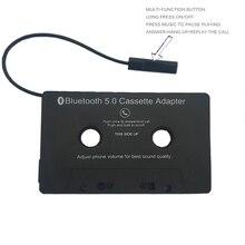 Cassette Audio voiture pour adaptateur Aux adaptateur Smartphone Cassette adaptateur lecteur Cassette adaptateur Bluetooth 5.0 convertisseur