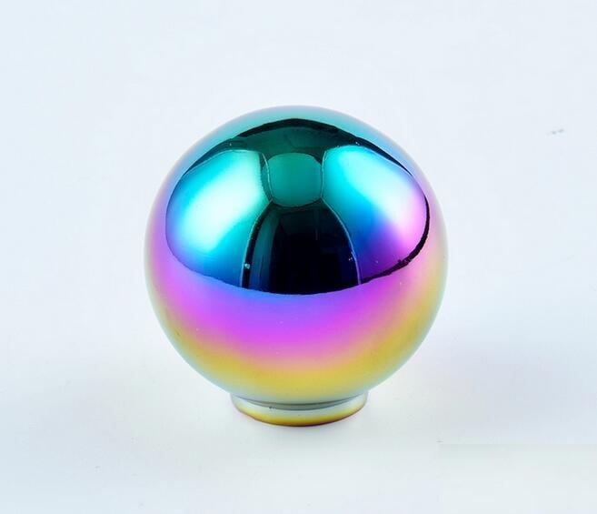 5 цветов автомобиля Алюминий рукоятка для рычага переключения передач ручной головные уборы рычаг Headball
