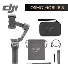 DJI Osmo Mobile 3 Combo 3-осевой Ручной Стабилизатор складной портативный шарнирный держатель стабилизатор для смартфона управление жестами