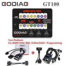 GODIAG GT100 Tự Động Dụng Cụ OBD II Nổ Ra Hộp ECU Cổng Kết Nối Plus Thử Nghiệm Nền Tảng Cho Xe BMW CAS4 / CAS4 + lập Trình