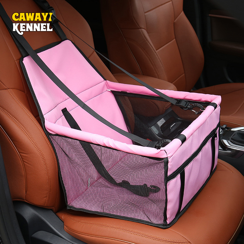 CAWAYI KENNEL Travel Dog Seat Cover Made Of 600 D Oxford PVC Material 1