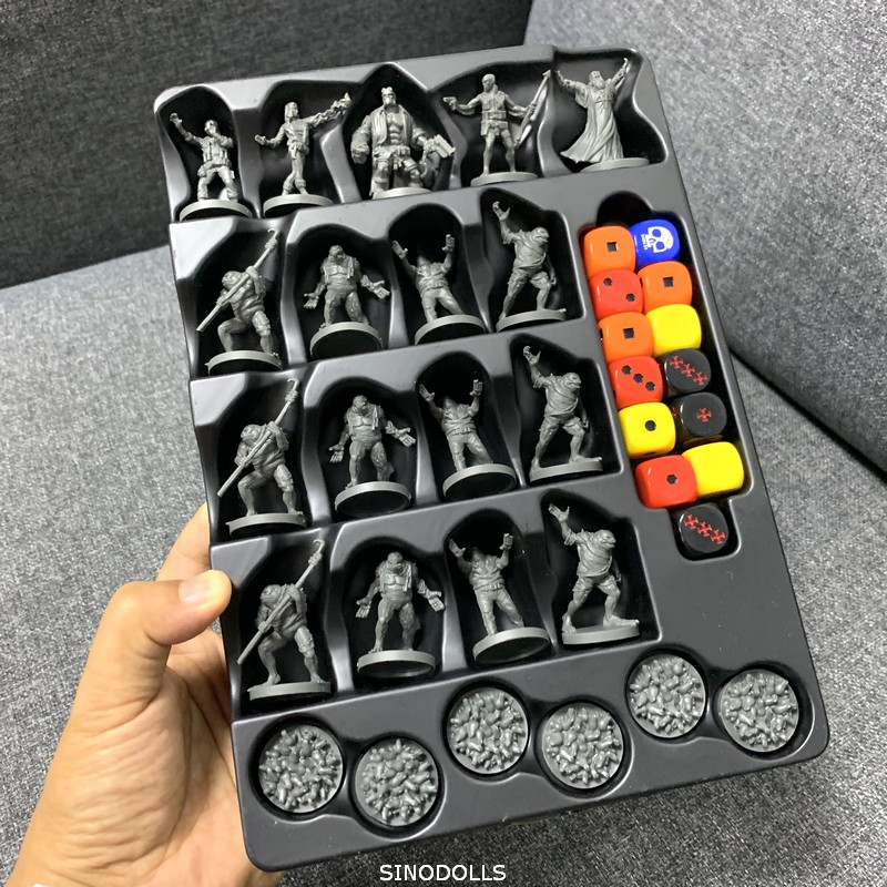 New 23 PCS/Set Dungeons & Dragon D & D Cthulhu Wars Board Game Miniatures Figures Dragons Mini Figure Boy Toy Gift