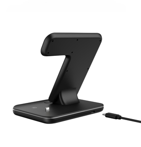 Image 5 - Charging Dock Holder For Iphone XS max 11 Pro max Iphone 8 Plus Silicone charging stand Dock Station For Apple iwatch Airpods