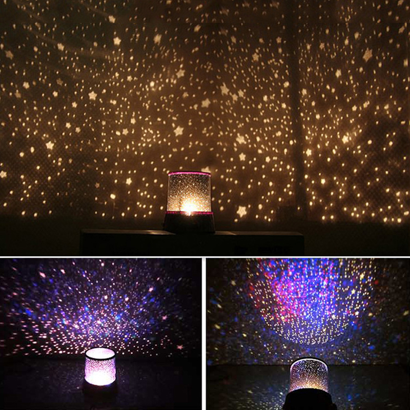 Starry Sky Night Light Bedroom Lamp Projection Lamp Living Room Night Light Home Decor Creative Romantic Gift