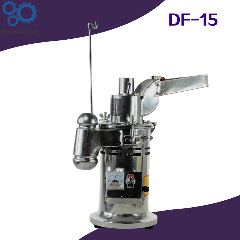 220v/50hz DF-15 Automatic Hammer Continuous Mill Herb Grinder/Mlling Machine/Pulverizer/Pulverizing Machine