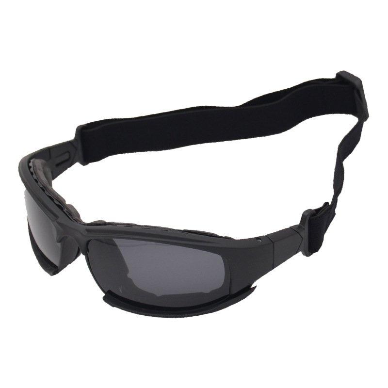 Polarized Light Version X7 Eye-protection Goggles Army Fans Glasses Tactical Goggles CS Shooting Glasses Outdoor Sunglasses