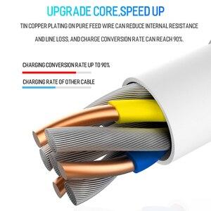 USB C кабель для быстрой зарядки Xiaomi mi 10 ultra mi9 mi a3 Redmi Note 9 8 Pro Samsung S8 S9 A71 A51 Тип C, 20 см/1 м/1,5 м/2 м/3 м