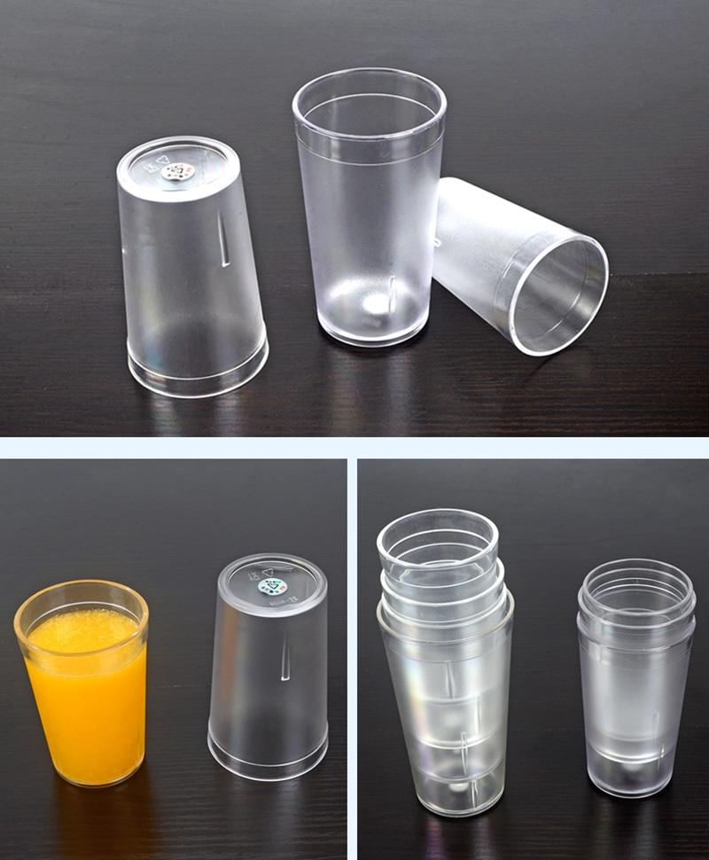 Restaurant-Quality Beverage Tumblers (9)