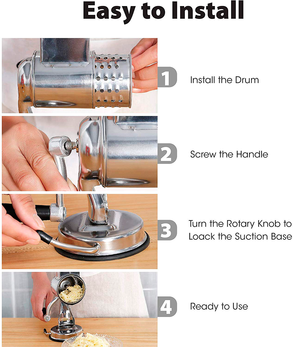 Multi functional kitchen rotary
