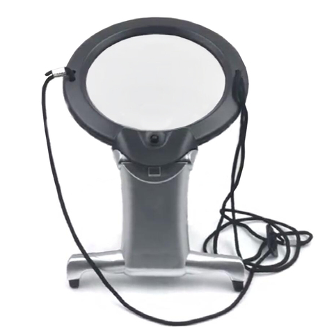 Hands Free LED loupe Lighted Reading Magnifier Table Hanging Magnifying Glass For Seniors Sewing Cross Stitch Embroidery Repair Karachi