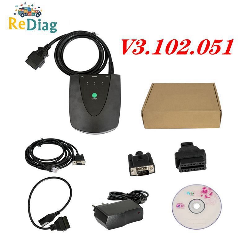 V3.102.051 For Honda HDS Tool HIM Diagnostic Tool For Honda HDS Newest Version With Double Board USB1.1 To RS232 OBD2 Scanner
