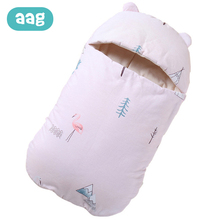 AAG Baby Sleeping Bag in the Hospital Diaper Cocoon for Newborns Stroller Envelope Discharge Sleepsack Swaddle