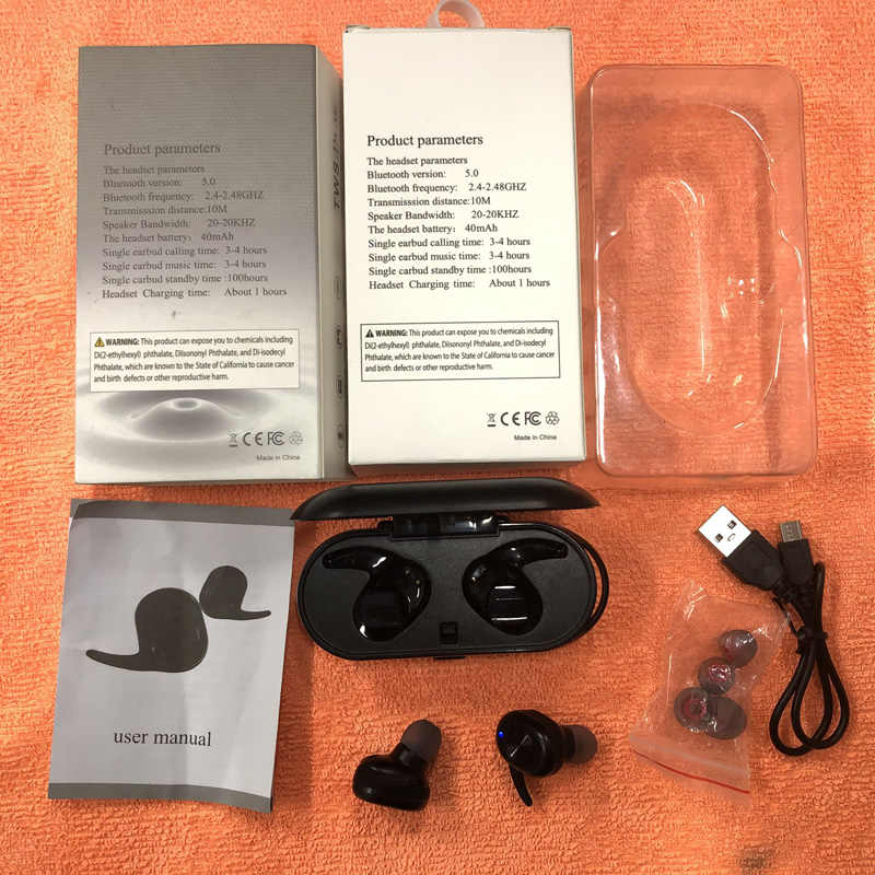TWS беспроводные наушники Мини Bluetooth 5,0 бинауральные наушники для Xiaomi huawei iphone Мобильный стерео наушники гарнитура