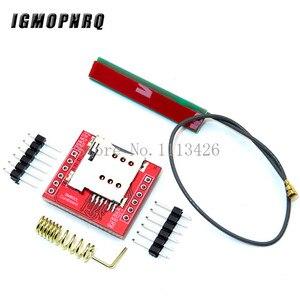 SIM800L GPRS GSM модуль Micro SIM карта Core четырехдиапазонный TTL последовательный порт антенна PCB беспроводная Wi-Fi плата для смартфона Arduino