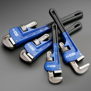 KALAIDUN Plumbing Pliers Pipe Wrench Industrial Heavy Duty Adjustable Anti-Corrosion Rust Large Open Spanner Plumber Repair Tool 4