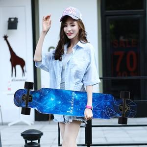 ARDEA MS400 Beginnner 107cm/42in longboard 7in Aluminium Truck Abec-7 Carton Steel Bearing Long board skateboard skate board