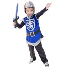 Costume Medieval Pants Outfit Vest Coat Hooded Armor Cosplay Boys for Children Sword
