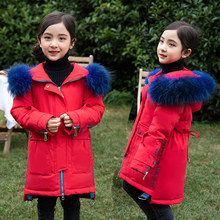 Russian Children Winter Down Jacket Snowsuit 2019 Baby Girl Coat Outdoor clothing Boys parka For Kids clothes 5-14y -30 Degrees(China)