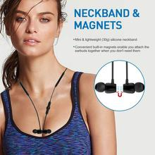 Magnetic Wireless Bluetooth Earphone Stereo Sports Waterproof Earbuds Wireless in-ear Headset with Mic For IPhone Huawei Samsung top selling wireless bluetooth earphone in ear stereo waterproof sports headset earbuds for iphone samsung lg htc huawei et1