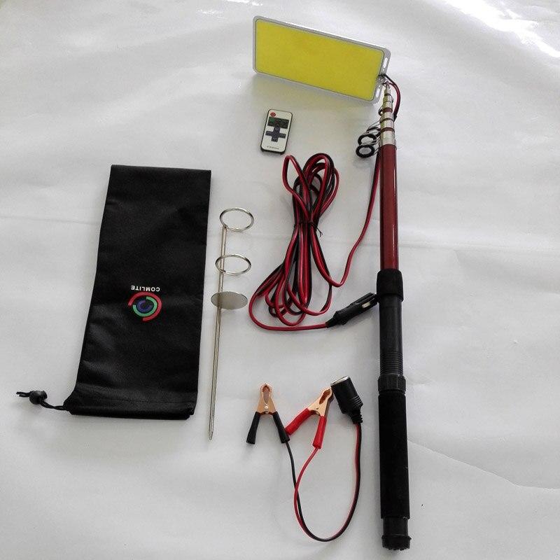 224 шт. светодиодный s COB 12 в светодиодный Телескопический удочка для рыбалки, уличный фонарь, походный светильник для путешествий или передвижной уличный светильник - Мощность в ваттах: M10 COB