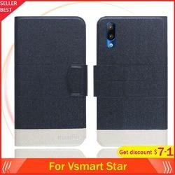 На Алиэкспресс купить чехол для смартфона vsmart star case 5.7дюйм. flip ultra-thin leather exclusive phone cover fashion folio book card slots