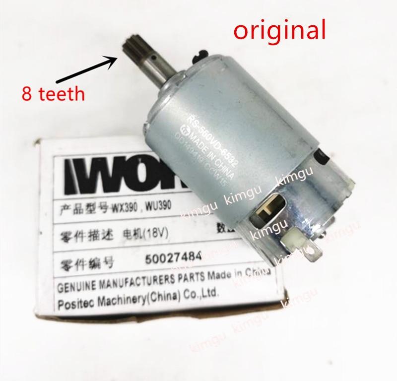 WORX Motor RS-550VD-6532 H3 For WORX 50027484 WU390 WX390 WX390.1 WX390.31 WU390.9 WX390.9 Rockwell 20V H3 QN147Y12