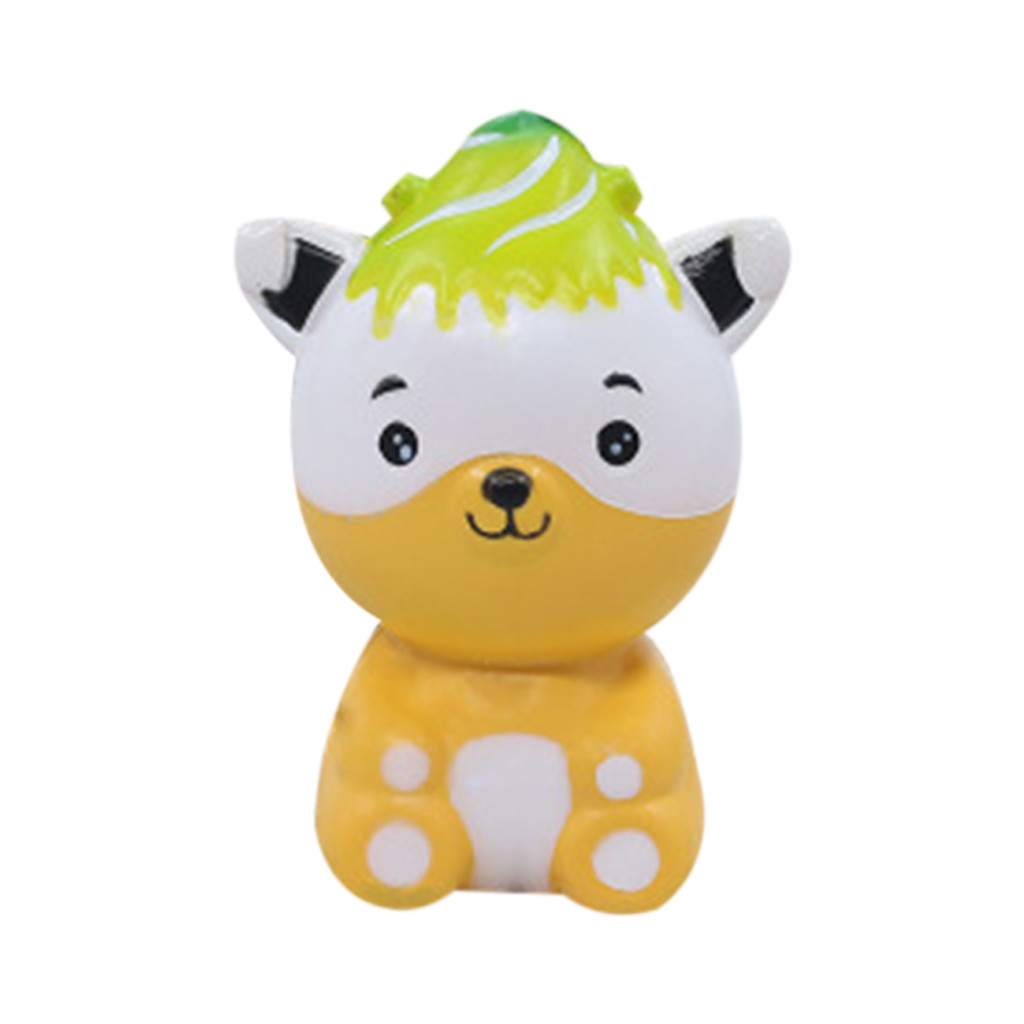 Slow Rising Toy For Children Novelty Gifts Soft Squeeze Toy Stress Reliever Decor Animal Toys Simulation Cartoon Toy #B