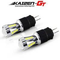 High Power Error Free Hp24w 3030-SMD Xenon White LED Bulbs G4 Car Daytime Running Light DRL For Citroen C5 Peugeot 3008 Canbus