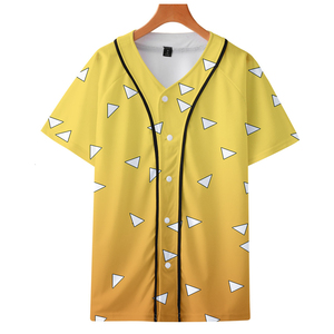 Image 3 - T shirt Cosplay de lanime Demon Slayer, Costume Kimetsu No Yaiba Tanjiro Kamado pour homme, grande taille, vestes pour fête dhalloween, CS016