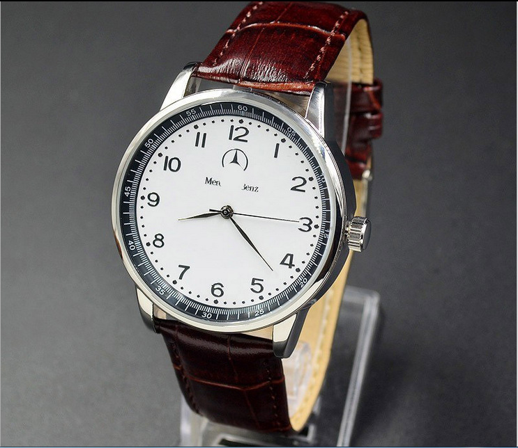 H34647c0424b34f9a9d06e03447b5cea7p New Style Mercedes Belt Watch Men Korean-style Fashion Business Casual Leather Belt Bens