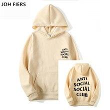Men Fashion Long Sleeve Letter Printed Hoodies Sweatshirt Women Social Club Pullover Anti Hooded Warm autumn Hoodie