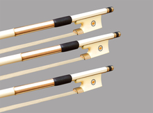 Wtsfwf High Quality Silver Mounted White Brazilwood Violin Bow Full Size 25PCS/Lot