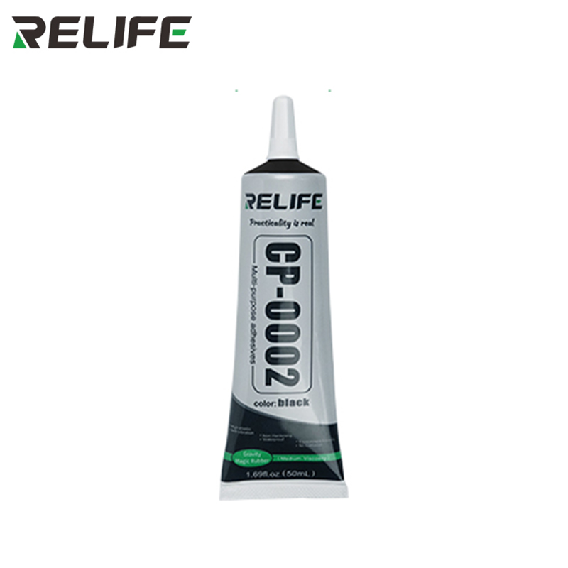 1Pcs 50ML Phone Repair Black Glue Pin Design High Elasticity Adhesive Liquid Glue For Phone Frame/Display/ Back Cover Repair