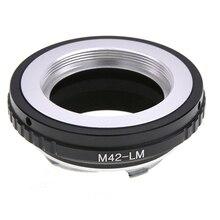 Handmatige Focus Lens Quick Release Lichtgewicht Mount Adapter Ring Draagbare Voor M42 Lens Leica M Lm Camera Converter