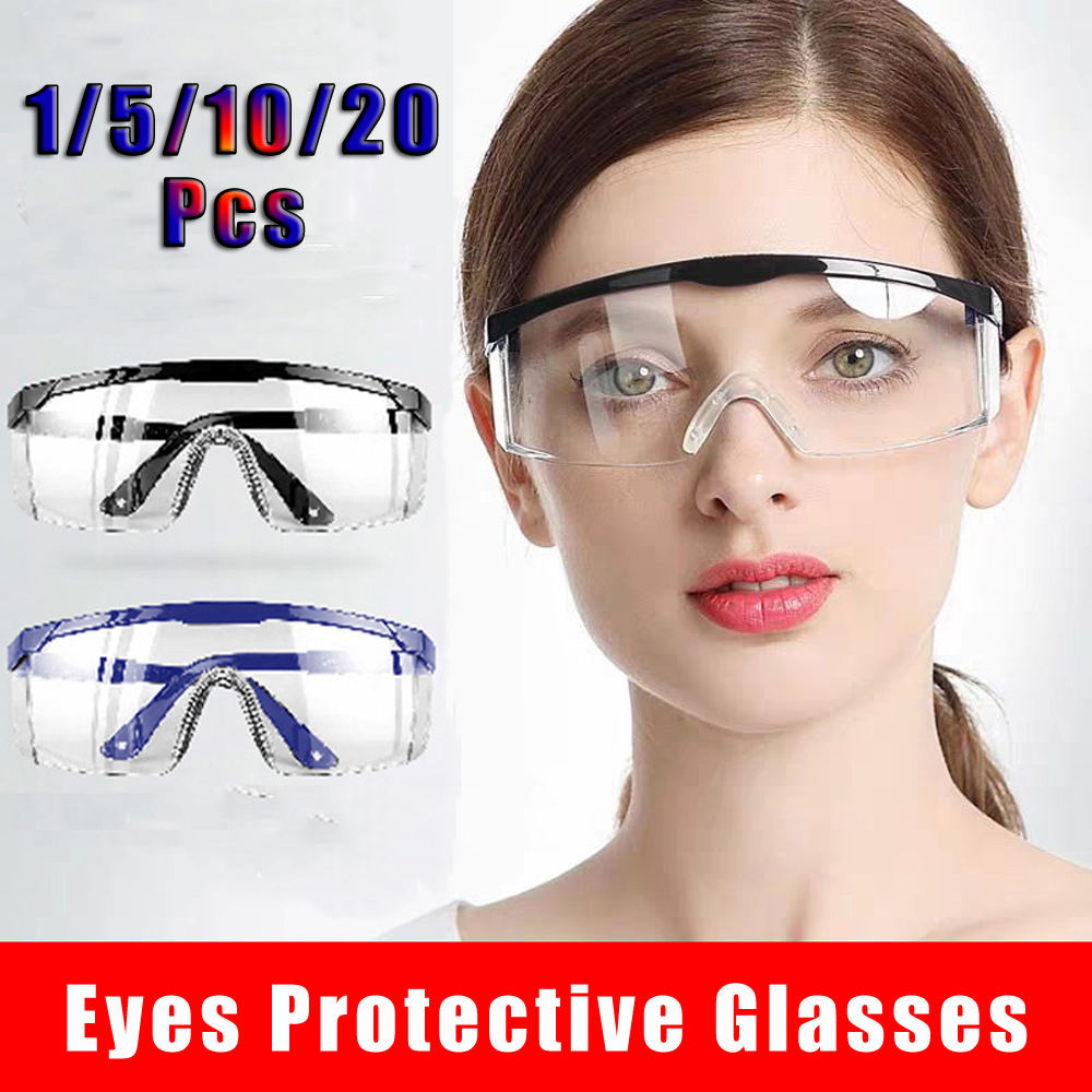 Eye Protection Protective Safety Riding Eyewear Vented Glasses Work Lab Sand Prevention Goggles Outdoor Security Supplies D30