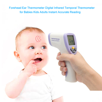 Non-contact Handheld Digital Infrared Thermometer Backlit Forehead Temperature Measuring Tool