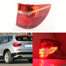 MIZIAUTO Rear tail light Outer side For BMW X3 F25 2011-2016 Warning Light Brake Bumper Tail Stop Lamp Fog