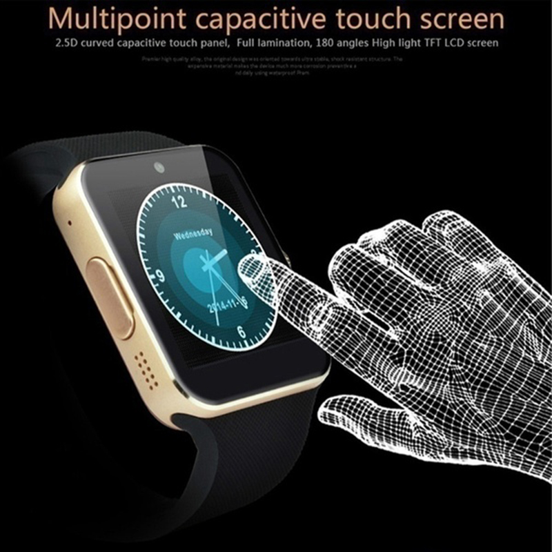Montre intelligente hommes GT08  écran tactile 9