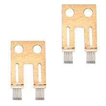 Комплект для ремонта рулевой колонки LARBLL 2 шт., датчик угла, контактная щетка, для BMW E65, E66, E60 730, 740, 530, 7 серий