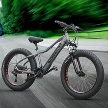 26inch electric mountain bicycle 48V500W fat ebike 4.0 snow tire electric bike B