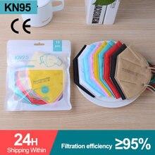 Mascarillas ffp2reutilizável respirador resuable ffp2 kn95 preto rosa máscaras de rosto 5 camada filtro de poeira fpp2 máscaras de proteção