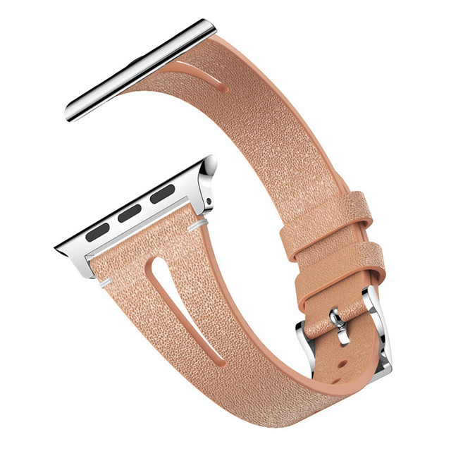 Good quality watch band For Apple Watch Series 1/2/3/4 42/44mm Deluxe Leather Denim Bracelet Watch Strap newly designed features