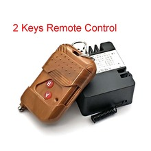2 Ch Wireless Relay RF Remote Control Switch DC 12V 220V 10A 315MHz Smart Home Heterodyne Receiver Top Quality (No battery pack)