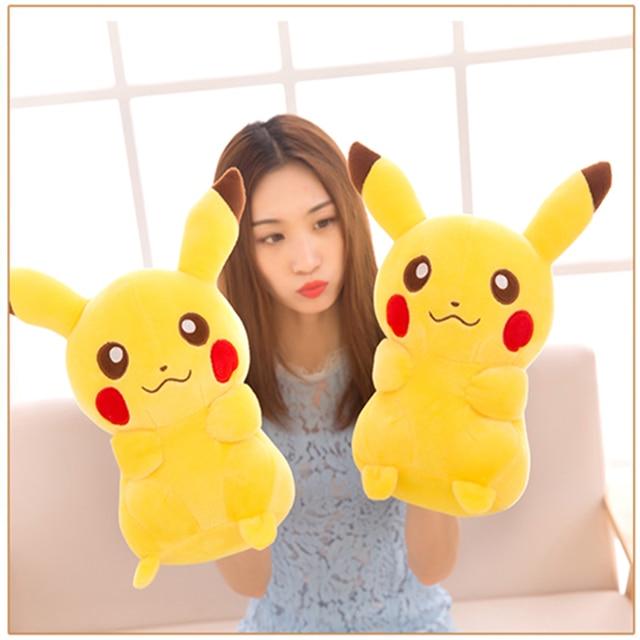 NEW TAKARA TOMY Pokemon Pikachu Plush Toys Stuffed Toys Japan Movie Pikachu Anime Dolls Christmas Birthday Gifts for Kids 4