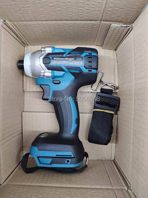 Image 2 - Electric Rechargeable cordless brushless impact driver drill without battery and accessories-in Electric Drills from Tools on